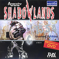Anarchy Online: Shadowlands Версия 15 5 4 Компьютерная игра DVD-ROM, 2004 г Издатель: МедиаХауз; Разработчик: FunCom пластиковый Jewel case Что делать, если программа не запускается? инфо 1849a.