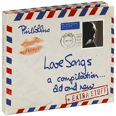 Phil Collins Love Songs: A Compilation Old And New Special Edition (2 CD + DVD) Формат: 2 CD + DVD (DigiPack) Дистрибьюторы: Atlantic Recording Corporation, Торговая Фирма инфо 5174m.